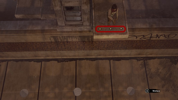 Now take the stairs leading to the higher diving platform (straight across the entrance door) and get to the top - Open the gates of the temple - Chapter seven - Syberia 3 Game Guide