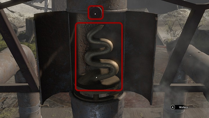 Now change the perspective so that youre able to see the back of the furnace - Give the ghosts a signal (smoke) - Chapter eight - Syberia 3 Game Guide