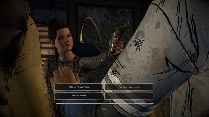 Unfortunately, the man will die from his wounds regardless if youve had performed the procedure - Chapter 2 - Promises and Lies | Episode 5 - Episode 5: From the Gallows - The Walking Dead: The Telltale Series - A New Frontier Game Guide