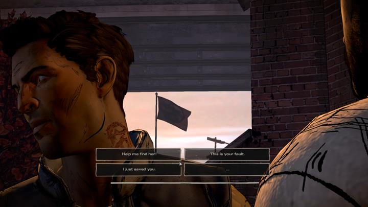 You are back to the present day - Chapter 1 - Sole Survivors   Episode 5 - Episode 5: From the Gallows - The Walking Dead: The Telltale Series - A New Frontier Game Guide
