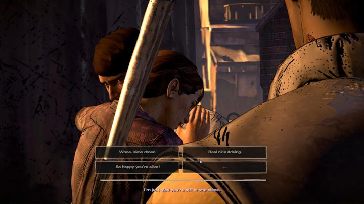 Kate joins the scene - Chapter 1 - Sole Survivors   Episode 5 - Episode 5: From the Gallows - The Walking Dead: The Telltale Series - A New Frontier Game Guide