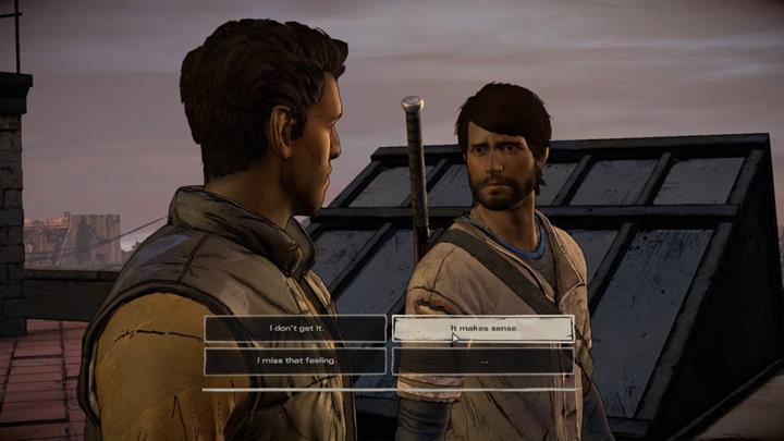 The choice is followed by additional Dialogues - Chapter 3 - Family Values | Episode 5 - Episode 5: From the Gallows - The Walking Dead: The Telltale Series - A New Frontier Game Guide