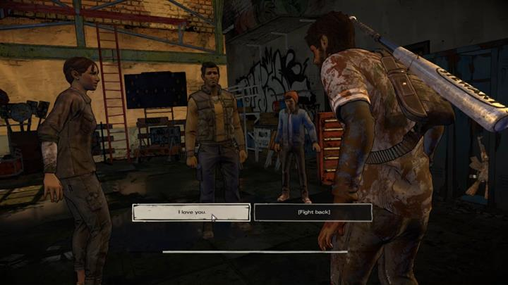 Revealing the truth leads to the third choice - Chapter 3 - Family Values   Episode 5 - Episode 5: From the Gallows - The Walking Dead: The Telltale Series - A New Frontier Game Guide