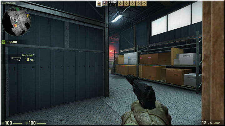 The corridor shown in the above screenshot is often used by the opponents - Mission 8 - Black Gold - Rigged - Missions - Counter-Strike: Global Offensive Game Guide