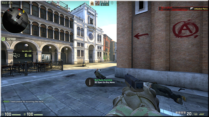 Possibly the best spot on the entire map - Mission 9 - Canals - Blood in the Water - Missions - Counter-Strike: Global Offensive Game Guide