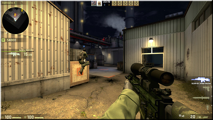 Probably the best position on the map - Mission 13 - Lite - Phoenix Rising - Missions - Counter-Strike: Global Offensive Game Guide