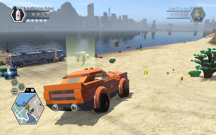 You can drive any vehicle you confiscate on the road - Transport - Tips - LEGO City: Undercover Game Guide