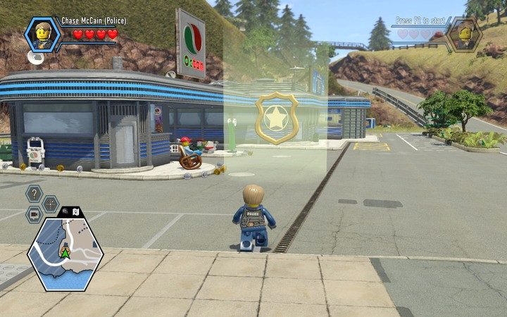 Head over to the gas station� - The beginning of the task | Chapter 2 - Chapter 2 - LEGO City: Undercover Game Guide
