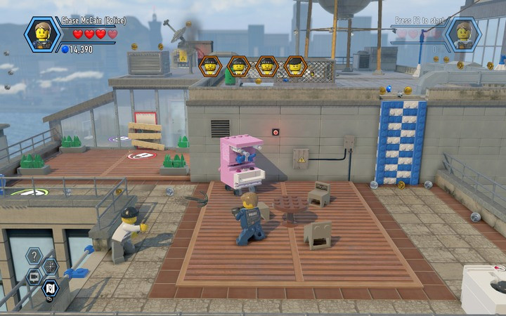 Defeat your opponent and cuff him - The TV station building | Chapter 2 - Chapter 2 - LEGO City: Undercover Game Guide
