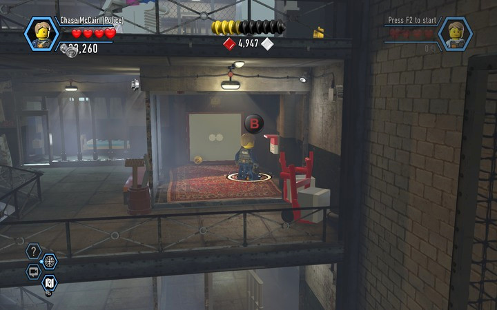 Build the terminal and use it, and the doors will then open - The prison cells | Chapter 3 - Chapter 3 - LEGO City: Undercover Game Guide