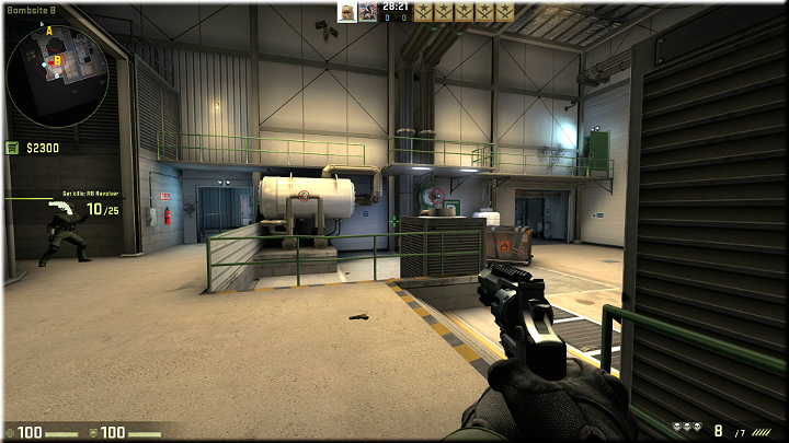 A very good spot, from which you can cover the majority of the map - Mission 15 - Lite - My Kind of Holiday - Missions - Counter-Strike: Global Offensive Game Guide