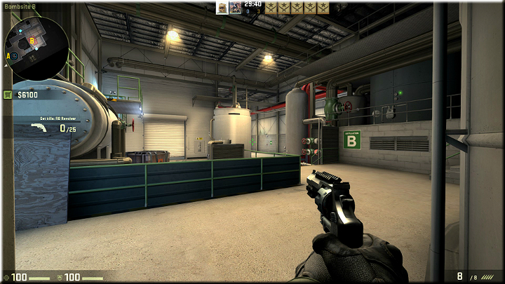 Another good spot, from which you can cover a large portion of the map - Mission 15 - Lite - My Kind of Holiday - Missions - Counter-Strike: Global Offensive Game Guide