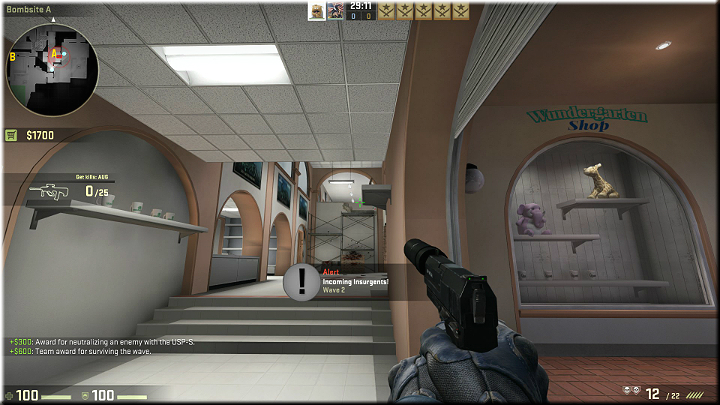 Opponents will often jump off the corridor above the scaffolding - Mission 16 - Thrill - Beauty Shots - Missions - Counter-Strike: Global Offensive Game Guide