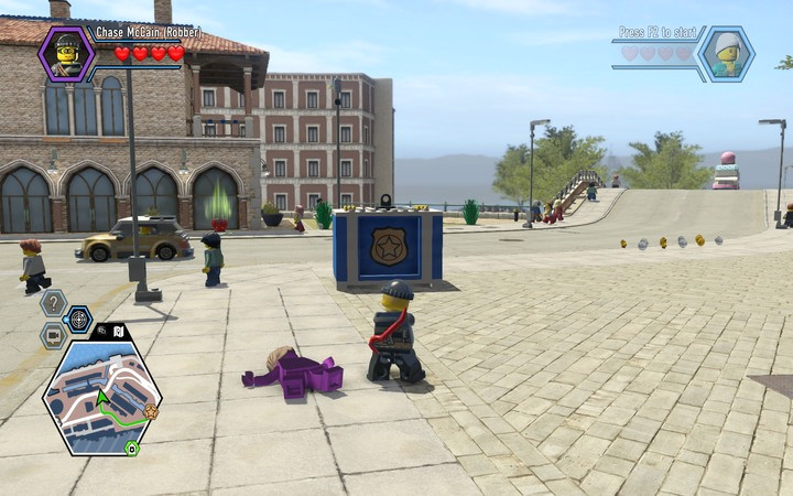 The Colour Gun colours not only people but also other objects � it has quite specific applications, which you will soon discover - Free Moe de Luca | Chapter 6 - Chapter 6 - LEGO City: Undercover Game Guide