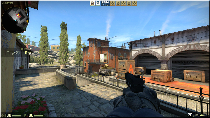 Heres a great, elevated vantage point - Mission 17 - Inferno - Scavengers - Difficult missions - Counter-Strike: Global Offensive Game Guide