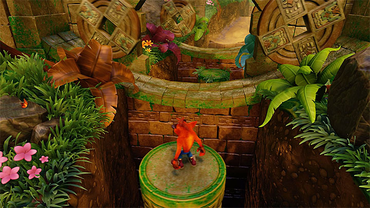 As the name of the level suggests, one of most common encountered threats in this level are giant rolling stone blocks - Rolling Stones | N. Sanity Island | Levels - Crash Bandicoot - N. Sanity Island - Crash Bandicoot N. Sane Trilogy Game Guide