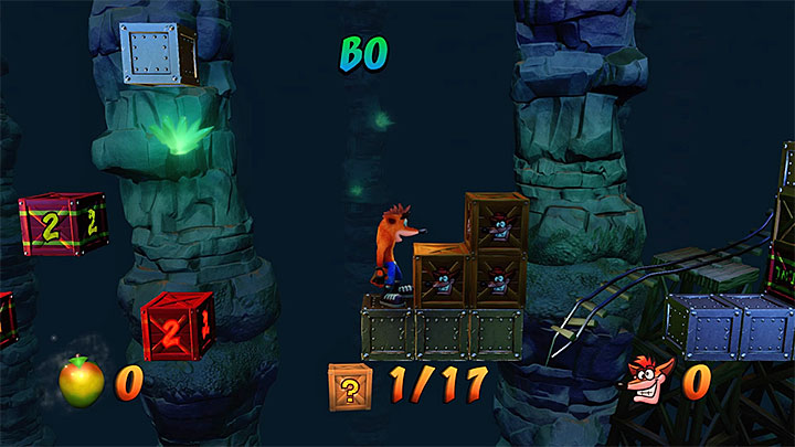 You will reach Nitrus Brios secret round slightly later - Rolling Stones | N. Sanity Island | Levels - Crash Bandicoot - N. Sanity Island - Crash Bandicoot N. Sane Trilogy Game Guide