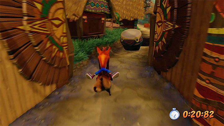 Be ready to repeat this level at least a few times - memorizing the whole track will make it much easier to avoid all obstacles and destroy all chests - Hog Wild | N. Sanity Island | Levels - Crash Bandicoot - N. Sanity Island - Crash Bandicoot N. Sane Trilogy Game Guide