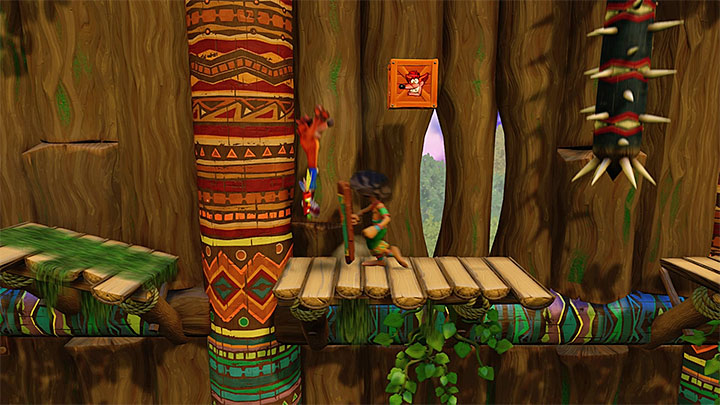 The beginning of the level isnt as hard as what comes next - Native Fortress | N. Sanity Island | Levels - Crash Bandicoot - N. Sanity Island - Crash Bandicoot N. Sane Trilogy Game Guide