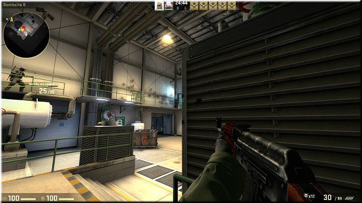This is a great spot, from which youll be able to see most of the map - Mission 22 - Lite - Desperate Times - Difficult missions - Counter-Strike: Global Offensive Game Guide