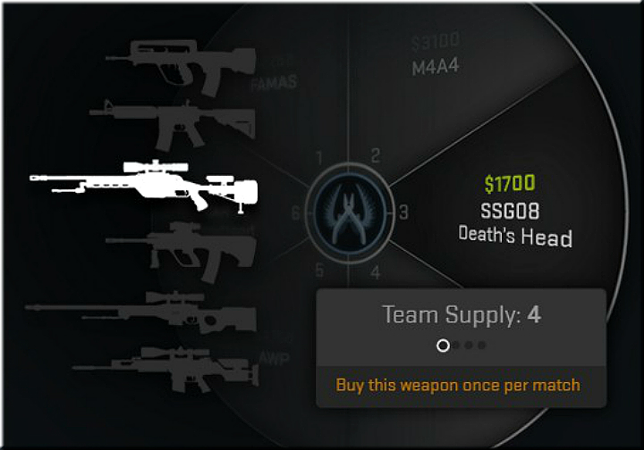This is a mode, in which teams of five play for a maximum of 30 rounds including a side swap - Weapon Expert Mode in CS: GO - New modes - Counter-Strike: Global Offensive Game Guide