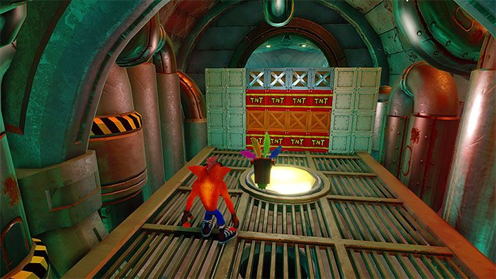 After you have completed the bonus round, follow the sewers - Sewer or Later | Crash Bandicoot 2 | Levels - Crash Bandicoot 2 - Sewer Warp Room - Crash Bandicoot N. Sane Trilogy Game Guide