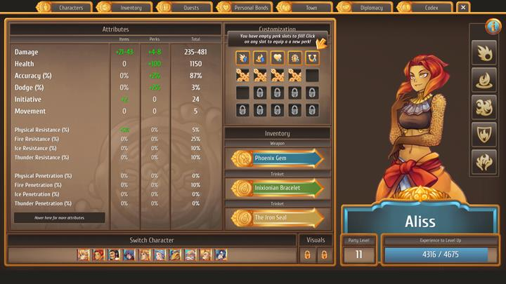 How to recruit for the party: she will join the party soon after Chapter 1 starts - All party members and how to recruit them   Citizens - Citizens - Regalia: Of Man and Monarchs Game Guide