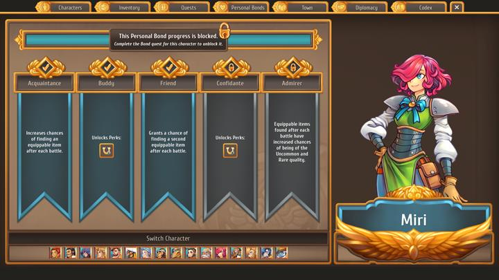 Her job is to find interesting items and magical phenomena - Which citizens to enter relationships with   Citizens - Citizens - Regalia: Of Man and Monarchs Game Guide