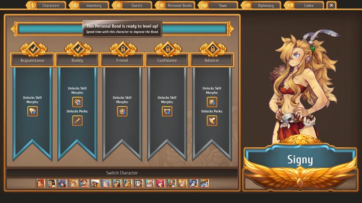 Signy has the strongest combat skills in the game - Which citizens to enter relationships with   Citizens - Citizens - Regalia: Of Man and Monarchs Game Guide
