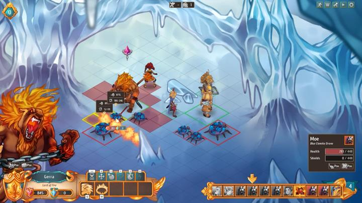 Demon summoned by Aliss is useful for virtually any battle. - How to fight enemies effectively?   Dungeons and combat - Dungeons and combat - Regalia: Of Man and Monarchs Game Guide