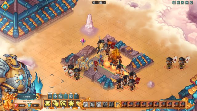 Kay, Levant, Aliss and Signy make a perfect party that can fight off any danger. - How to fight enemies effectively?   Dungeons and combat - Dungeons and combat - Regalia: Of Man and Monarchs Game Guide