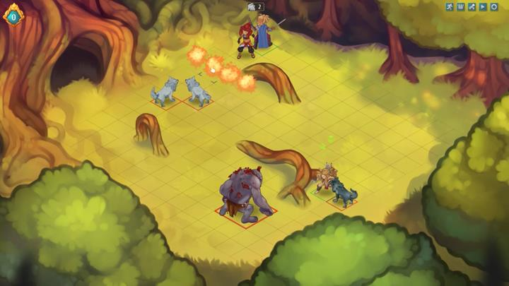 In the meantime, deal damage as Kay and retreat to hide behind the projecting tree root - Example battles   Dungeons and combat - Dungeons and combat - Regalia: Of Man and Monarchs Game Guide