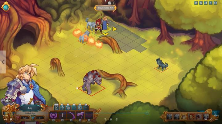 In this case, things have taken an unfortunate turn - Example battles   Dungeons and combat - Dungeons and combat - Regalia: Of Man and Monarchs Game Guide