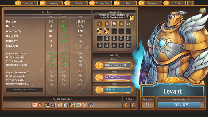 A soul imprisoned in a powerful suit of armor - The best combat party members and skills   Dungeons and combat - Dungeons and combat - Regalia: Of Man and Monarchs Game Guide