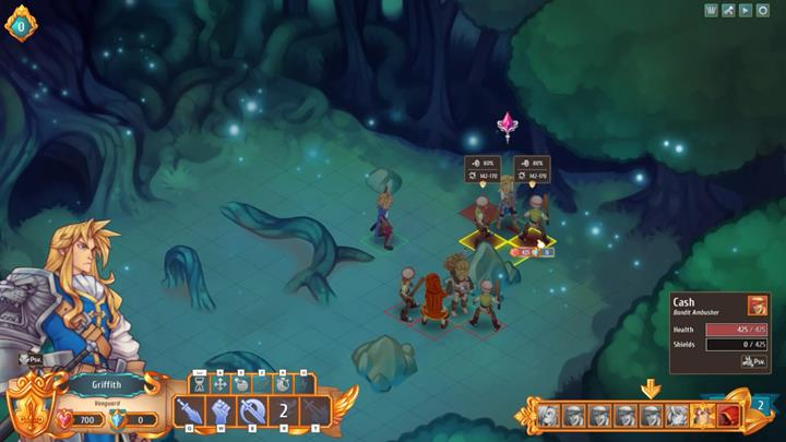After a while, you will reach an encampment, where you can regenerate your health - The first journey and a new ally   Walkthrough for Chapter 1 - Walkthrough for Chapter 1 - Regalia: Of Man and Monarchs Game Guide