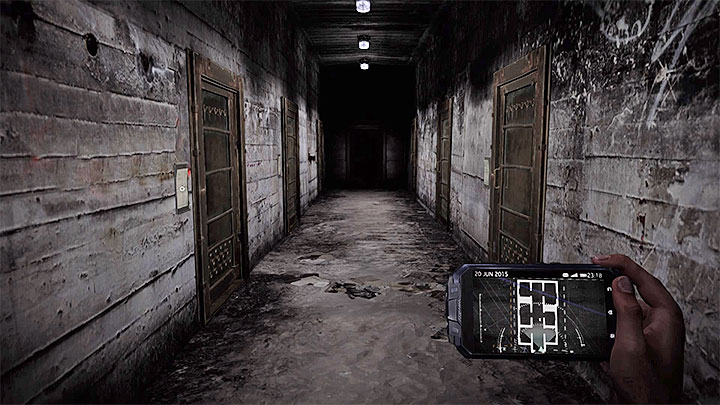 There are four documents to be found just in this single corridor - The interrogation of Rose Atkins | Black | Walkthrough - Black - Get Even Game Guide