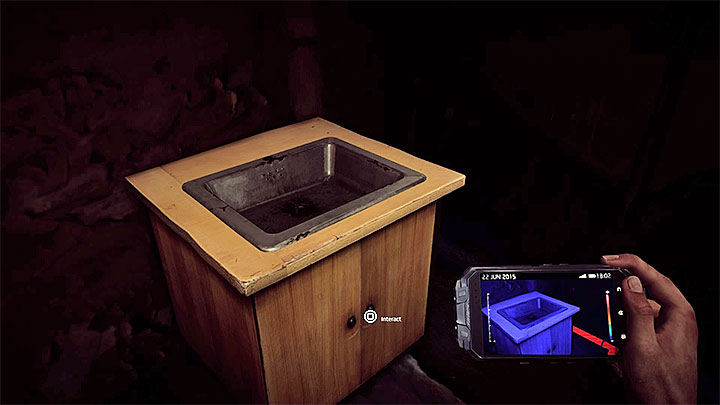 Finally, you must return to the ground floor and look at the sink presented in the picture - Its 5 clock | Trophy Guide - Trophy Guide - Get Even Game Guide