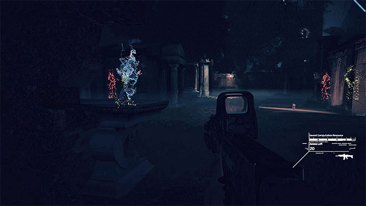 During the graveyard stage, try to teleport when possible - Rose_Atkins files | Red | Walkthrough - Red - Get Even Game Guide
