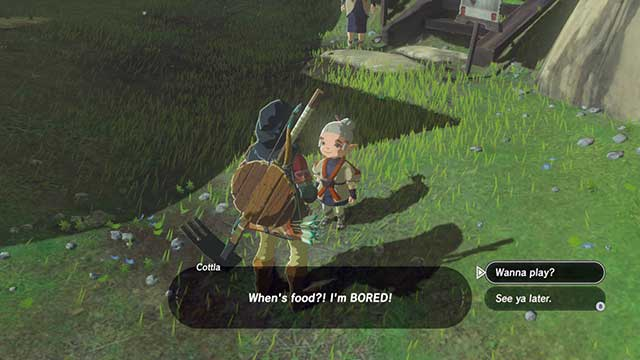 Play with Cottla - Dueling Peaks Tower | Side quests - Side quests - The Legend of Zelda: Breath of the Wild Game Guide