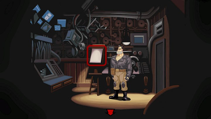 As a result the woman from the room on the left will move to the room on the right - Foil Ripburgers intentions | Chapter Three Walkthrough - Chapter Three | Full Throttle Remastered Walkthrough - Full Throttle Remastered Game Guide