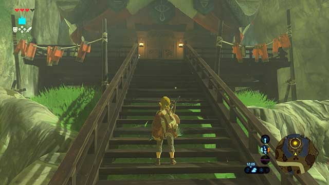 Enter lady Impas house - Seek Out Impa and Locked Mementos | Main quests - Main quests - The Legend of Zelda: Breath of the Wild Game Guide
