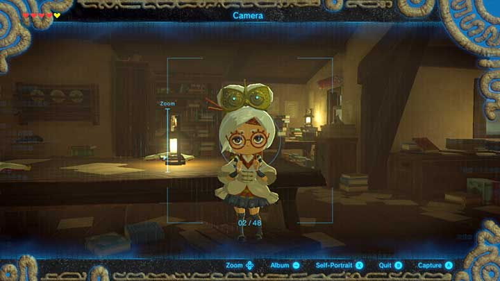 Take a photo - Seek Out Impa and Locked Mementos | Main quests - Main quests - The Legend of Zelda: Breath of the Wild Game Guide