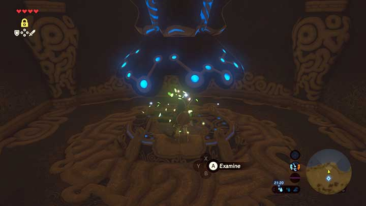 You will find a seed in the Shrine of Resurrection - Great Plateau | Korok Seeds - Korok Seeds - The Legend of Zelda: Breath of the Wild Game Guide