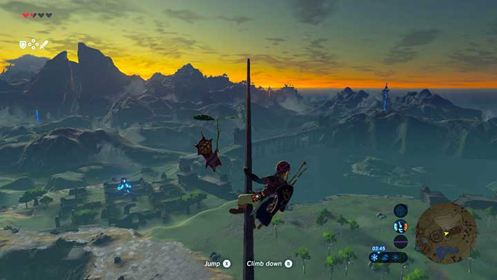 Climb, acquire seeds and enjoy the beautiful vista - Great Plateau | Korok Seeds - Korok Seeds - The Legend of Zelda: Breath of the Wild Game Guide