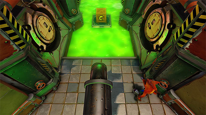 You should now be in the location shown in the above screenshot - Cortex Power | Cortex Island | Levels - Crash Bandicoot - Cortex Island - Crash Bandicoot N. Sane Trilogy Game Guide