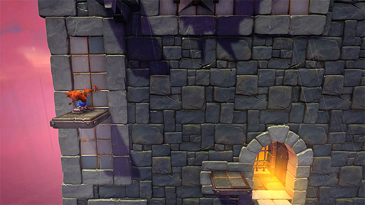 You end up in the location, where there is yet another demanding path to follow - Slippery Climb | Cortex Island | Levels - Crash Bandicoot - Cortex Island - Crash Bandicoot N. Sane Trilogy Game Guide