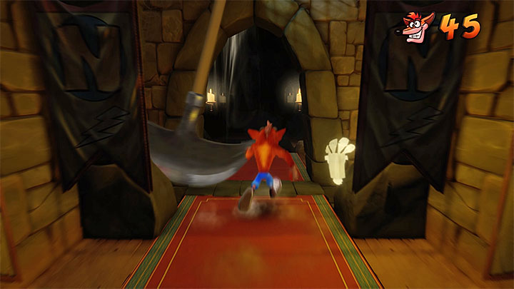 Follow the main corridor, where there are many jumps to take - Lights Out | Cortex Island | Levels - Crash Bandicoot - Cortex Island - Crash Bandicoot N. Sane Trilogy Game Guide