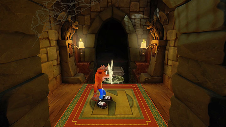 It has already been mentioned at the very beginning that to destroy all crates, you will require yellow gem awarded for perfect completion of the later stage The Lab - Lights Out | Cortex Island | Levels - Crash Bandicoot - Cortex Island - Crash Bandicoot N. Sane Trilogy Game Guide