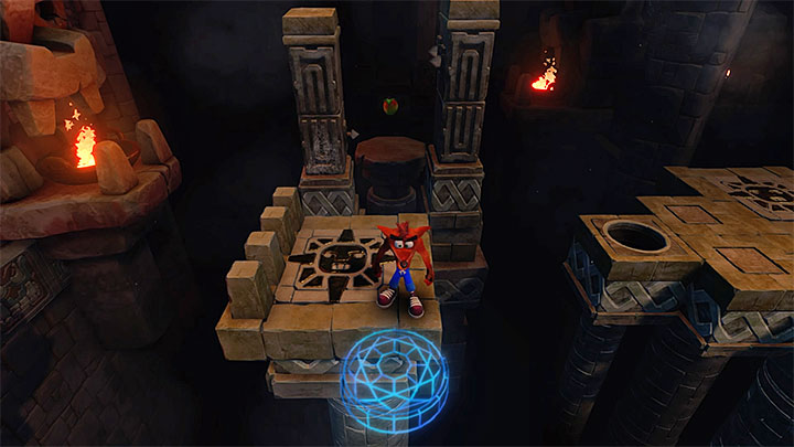 Go left - Jaws of Darkness | Cortex Island | Levels - Crash Bandicoot - Cortex Island - Crash Bandicoot N. Sane Trilogy Game Guide