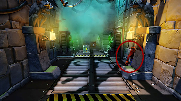 The following rooms contain easy to dodge traps so you shouldnt have any problems - The Lab | Cortex Island | Levels - Crash Bandicoot - Cortex Island - Crash Bandicoot N. Sane Trilogy Game Guide